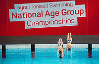 Picture by Allan McKenzie/SWpix.com - 25/11/2017 - Swimming - Swim England Synchronised Swimming National Age Group Championships 2017 - GL1 Leisure Centre, Gloucester, England -