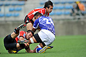 (L to R) Tomohiro Senba (JPN), Hirotoki Onozawa (JPN),.JUNE 17, 2012 - Rugby : IRB Pacific Nations Cup 2012 match between Japan 26-27 Samoa at Chichibunomiya Rugby Stadium, Tokyo, Japan. (Photo by Jun Tsukida/AFLO SPORT) [0003]