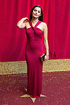 © Licensed to London News Pictures . 16/05/2015 .  The Palace Hotel , Manchester , UK . Sair Khan . The red carpet at the 2015 British Soap Awards , The Palace Hotel , Oxford Road , Manchester . Photo credit : Joel Goodman/LNP