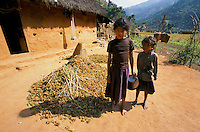 Peasant Children's in Rolpa District Nepal