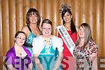 Rose of Tralee Claire ???????????? with some of stars at the Kerry All Stars ball in the Malton Hotel Killarney on Friday night: Emma Doolan, Linda O'Mahony, Catherine Fleming, Claire and Mary Claire McCarthy