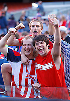22 MAY 2010:  USA Fans during the International Friendly soccer match between Germany WNT vs USA WNT at Cleveland Browns Stadium in Cleveland, Ohio. USA defeated Germany 4-0 on May 22, 2010.
