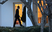 United States President Barack Obama, following a day trip to Jacksonville, Florida, returns to the White House in Washington, DC on February 26, 2016 <br /> Credit: Dennis Brack / Pool via CNP