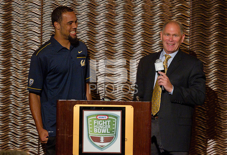 The Bay Area College Football Luncheon at the Hotel Nikko in San Francisco for Kraft Flight Hunger Bowl on July 30.2012. ( Photo by Norbert von der Groeben ) .