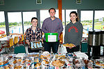 Tralee Bay Wetlands Centre and the Lakeside Café are hosting a Cake Sale and Coffee morning with all donations and proceeds going to MS Ireland. Pictured l-r  Kate McNamara, Eoin Mascal and Deidre Hunt