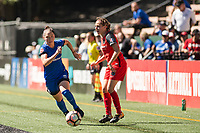 Seattle, WA - Saturday, August 26th, 2017: Ashleigh Sykes during a regular season National Women's Soccer League (NWSL) match between the Seattle Reign FC and the Portland Thorns FC at Memorial Stadium.