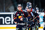 Stockholm 2013-12-28 Ishockey Hockeyallsvenskan Djurg&aring;rdens IF - Almtuna IS :  <br /> Djurg&aring;rden M&aring;ns Kr&uuml;ger Kruger deppar efter matchen<br /> (Foto: Kenta J&ouml;nsson) Nyckelord:  depp besviken besvikelse sorg ledsen deppig nedst&auml;md uppgiven sad disappointment disappointed dejected