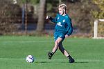 07.11.2018, Trainingsgelaende, Bremen, GER, RL Nord, Training Werder Bremen II<br /> <br /> im Bild<br /> Zinedine Kroeten am Ball, <br /> <br /> Foto &copy; nordphoto / Ewert