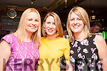 Writers Week : Jenny Keane McNicholas, Evelyn O'Connell & Liz Galvin attending Poets Corner at Christy's Bar, Listowel on Friday night last.