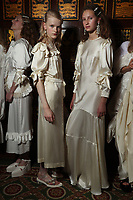 SEPT Simone Rocha  backstage at London Fashion Week