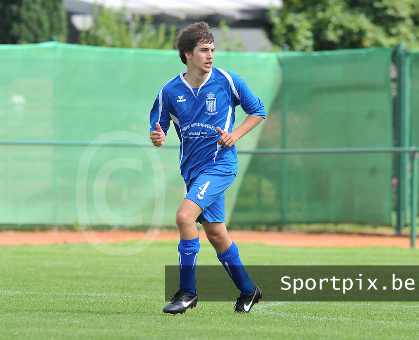 FC Lendelede Sport : Pieter-Jan Den Dullen.foto VDB / BART VANDENBROUCKE