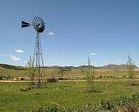 Windmill near Craig, Montana.