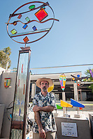 Artist Reza Pishgahi and over 260 artists displayed their works during the 32nd Annual Naples National Art Festival, one of the top ten art fairs in the country, at Cambier Park, Naples, Florida, USA, Feb. 26, 2011. Photo by Debi Pittman Wilkey