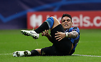 Football Soccer: UEFA Champions League -Group Stage- Group F Internazionale Milano vs Borussia Dortmund, Giuseppe Meazza stadium, October 23, 2019.<br /> Inter's Lautaro Martinez reacts during the Uefa Champions League football match between Internazionale Milano and Borussia Dortmund at Giuseppe Meazza (San Siro) stadium, on October 23, 2019.<br /> UPDATE IMAGES PRESS/Isabella Bonotto