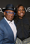 "Al Roker and Deborah Roberts Attends the Broadway Opening Night Arrivals for ""Burn This"" at the Hudson Theatre on April 15, 2019 in New York City."