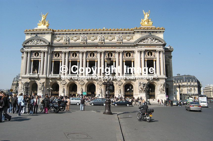Opera Garnier, Paris, France. Ref. 200403294197.  ..Copyright Image from Victor Patterson, 54 Dorchester Park, Belfast, UK, BT9 6RJ..Tel: +44 28 9066 1296.Mob: +44 7802 353836.Voicemail +44 20 8816 7153.Skype: victorpattersonbelfast.Email: victorpatterson@mac.com.Email: victorpatterson@ireland.com (back-up)..IMPORTANT: If you wish to use this image or any other of my images please go to www.victorpatterson.com and click on the Terms & Conditions. Then contact me by email or phone with the reference number(s) of the image(s) concerned.