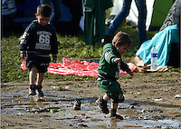 2016 03 01 Refugees by the Greek FYRO Macedonian border, Idomeni, Greece