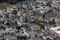 aerial photograph Presidio Heights residential neighborhood San Francisco California