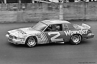 DAYTONA BEACH, FL - FEBRUARY 15: Dale Earnhardt drives in the Daytona 500 on February 15, 1981, at the Daytona International Speedway in Daytona Beach, Florida.