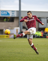 Rod McDonald of Northampton Town during the Sky Bet League 2 match between Northampton Town and Wycombe Wanderers at Sixfields Stadium, Northampton, England on the 20th February 2016. Photo by Liam McAvoy.