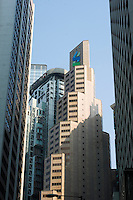 HONG KONG - APRIL 13: The headquarters of Standard Chartered Bank stand in Central business district, on April 13, in Hong Kong. (Photo by Lucas Schifres/Pictobank)