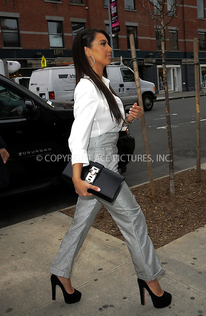 WWW.ACEPIXS.COM . . . . .  ....April 26 2012, New York City....Kim Kardashian steps out of her car  on April 26 2012 in New York City....Please byline: CURTIS MEANS - ACE PICTURES.... *** ***..Ace Pictures, Inc:  ..Philip Vaughan (212) 243-8787 or (646) 769 0430..e-mail: info@acepixs.com..web: http://www.acepixs.com