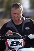 Steve Corey. His knowledge of the Baja course is amazing. I am sure I would be lost if he was not with us. He is setting up the Trail Tech GPS unit on one of the bikes.