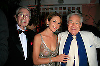 Beverly Hills, California - September 7, 2006.Army Archerd, Diane Lane  and Jack Larson at the Afterparty for the Los Angeles Premiere of Hollywoodland at the Beverly Hills Hotel..Photo by Nina Prommer/Milestone Photo