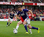 Jack O'Connell of Sheffield Utd during the Championship match at the Riverside Stadium, Middlesbrough. Picture date: August 12th 2017. Picture credit should read: Simon Bellis/Sportimage