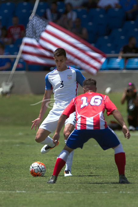 United States national soccer team beat Puerto Rico 3-1 today May 22, 2016, in a historic friendly match that took place at the Juan Ramon Loubriel Stadium in Bayamon city.<br />