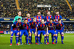 Players of FC Barcelona line up and pose for photos prior to their La Liga match between Villarreal and FC Barcelona at the Estadio de la Cerámica on 08 January 2017 in Villarreal, Spain. Photo by Maria Jose Segovia Carmona / Power Sport Images