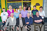 Jimmy O'Brien who celebrated the 50th anniversary of his famous Jimmy O'Brien bar Killarney on Monday evening with his family l-r: Donie, Jimmy, Patrick and James O'Brien. Back row: David Rea, Kathleen O'Brien, Betty O'Brien,Siobhain O'Brien, Harry, Ann and Cian O'Neill and Nora O'Callaghan.