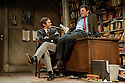 "London, UK. 03/06/2011.  ""Butley"" by Simon Gray opens at the Duchess Theatre, London. Dominic West (The Wire) stars as the eponymous Butley. Picture shows Dominic West (r) as Butley and Martin Hutson (l) as Joseph Keyston. Photo credit should read Jane Hobson"
