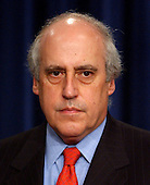 Former United States Secretary of Agriculture Dan Glickman attends U.S. President George W. Bush's remarks on the Central American Free Trade Agreement (CAFTA).  Glickman currently serves as President of the Motion Picture Association of America (MPAA)..Credit: Ron Sachs / CNP