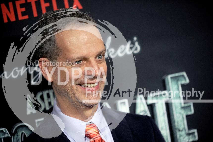 Patrick Breen bei der Premiere der zweiten Staffen der Netflix TV-Serie 'A Series of Unfortunate Events / Eine Reihe betrüblicher Ereignisse' im Metrograph. New York, 29.03.2018