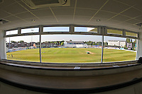 General view of the ground from inside the new media centre ahead of Derbyshire CCC vs Essex CCC, Specsavers County Championship Division 2 Cricket at the 3aaa County Cricket Ground on 15th August 2016