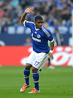FUSSBALL   1. BUNDESLIGA  SAISON 2012/2013   4. Spieltag FC Schalke 04 - FC Bayern Muenchen      22.09.2012 Jefferson Farfan (FC Schalke 04)