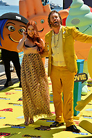 Actor T.J. Miller &amp; wife actress Kate Miller at the photocall for &quot;The Emoji Movie&quot; at the 70th Festival de Cannes, Cannes, France. 16 May 2017<br /> Picture: Paul Smith/Featureflash/SilverHub 0208 004 5359 sales@silverhubmedia.com