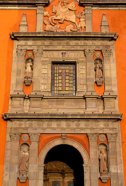 Church of San Francisco, Queretaro, Queretaro State, Mexico, North America