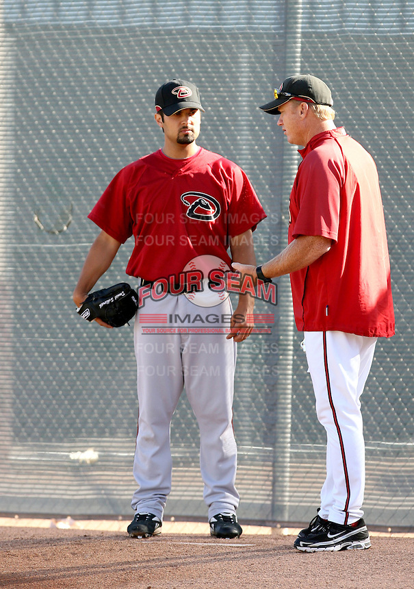 Daniel Schlereth / Arizona Diamondbacks 2008 Instructional League..Photo by:  Bill Mitchell/Four Seam Images