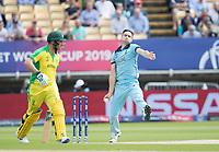 Man of the Match Chris Woakes (England) during Australia vs England, ICC World Cup Semi-Final Cricket at Edgbaston Stadium on 11th July 2019