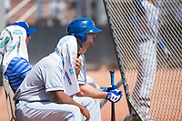 AZL Royals center fielder Bubba Starling (7) during a rehab assignment in an Arizona League game against the AZL Padres 1 at Peoria Sports Complex on July 4, 2018 in Peoria, Arizona. The AZL Royals defeated the AZL Padres 1 5-4. (Zachary Lucy/Four Seam Images)