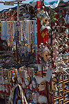 Souvenir market stall, Venice, Italy, May 2007.