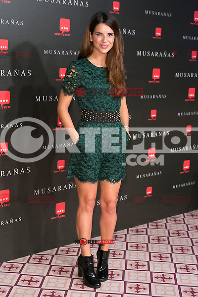 "Ana Caldas attend the Premiere of the movie ""Musaranas"" in Madrid, Spain. December 17, 2014. (ALTERPHOTOS/Carlos Dafonte) /NortePhoto /NortePhoto.com"