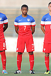 20 May 2014: USA Under-20's Jacori Hayes. The Under-20 United States Men's National Team played a scrimmage against a team composed of players from the Carolina RailHawks and the Capital Area RailHawks Academy Under-18 squad WakeMed Stadium in Cary, North Carolina. The combined RailHawks team won the game 2-1.