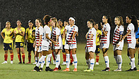Lakewood Ranch, FL - Wednesday, October 10, 2018:   Penalty kicks during a U-17 USWNT match against Colombia.  The U-17 USWNT defeated Colombia 4-1.