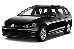 Front three quarter view of a Front three quarter view of a 2013 Volkswagen Golf Trendline Variant2013 Volkswagen Golf Trendline Variant