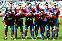 Levante UD's team photo during La Liga match. September 9,2017. (ALTERPHOTOS/Acero)<br /> Real Madrid - Levante <br /> Liga Campionato Spagna 2017/2018<br /> Foto Alterphotos / Insidefoto <br /> ITALY ONLY