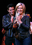 Olivia Newton-John is headed back to Rydell High to promote Breast Cancer Awareness after the Curtain Call for GREASE at the Brooks Atkinsoon Yheatre in New York City. <br />