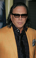 Mickey Rourke<br /> 2009<br /> Photo By Russell EInhorn/CelebrityArchaeology.com